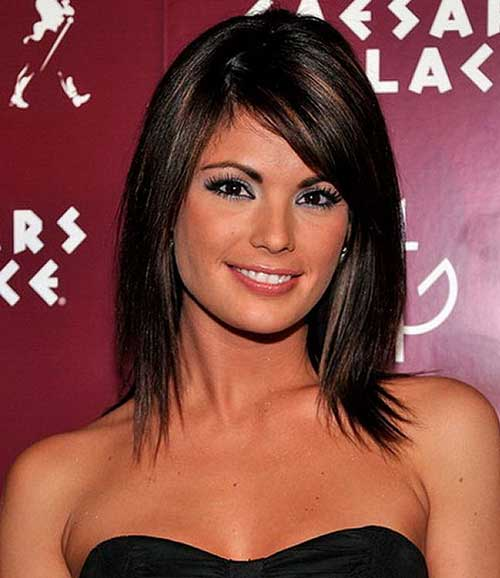 Long Dark Bob Hairstyles for Thick Hair