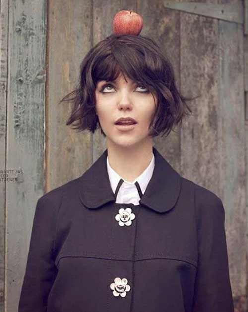 Lovely Blunt Bob Cut