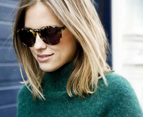 Medium Length Blonde Bob Haircuts