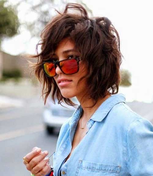 Messy Trendy Bob Haircuts