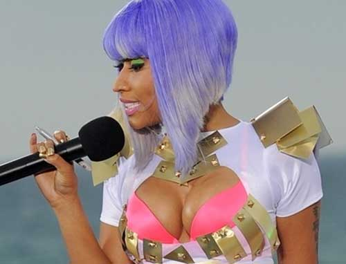 Cute Nicki Minaj Bob