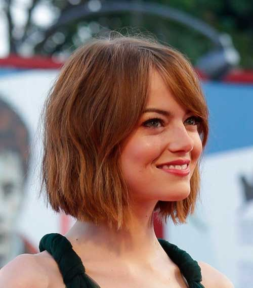 Perfect Wavy Bob Haircut Idea