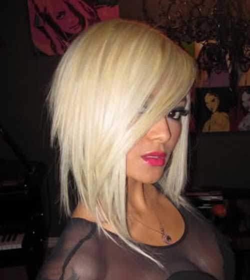 Platinum Bobs Hairstyles for 2014-2015