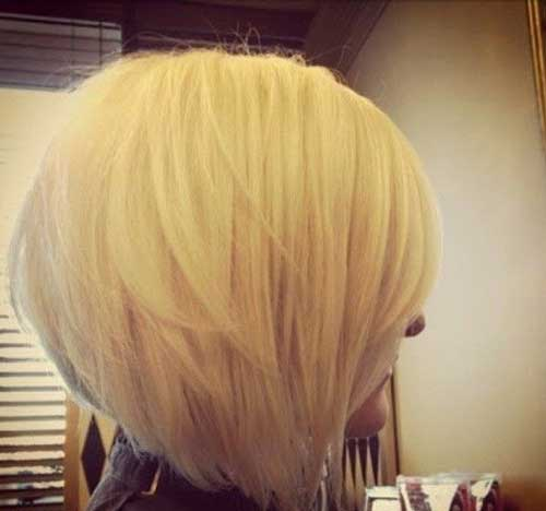 Short Bob Hairstyles Side View 2014