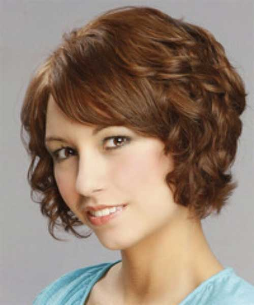 Short Bob Wavy Hairstyle for 2014