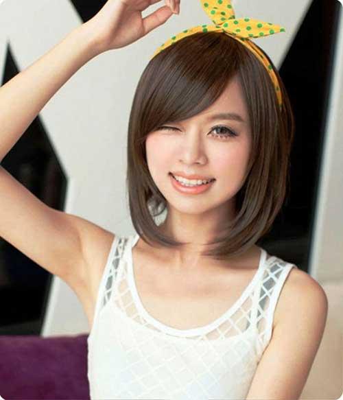 Short Chinese Straight Bob Hair Ideas