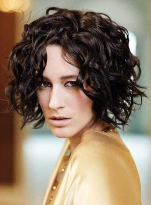 Short Curly Bob Hairstyles for 2014