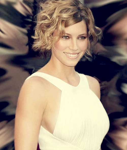Short Curly Bob Hairstyles 2014-2015