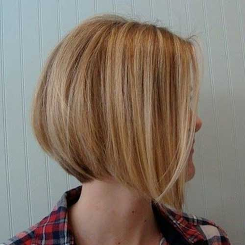 Short Highlighted Bob Hairstyle for 2014