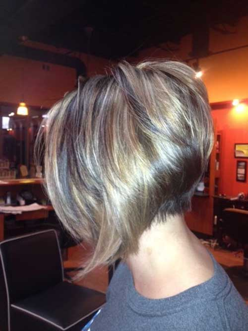 Nice Short Inverted Bob Haircuts