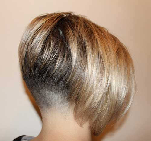 Short Inverted Bob Style with Undercut