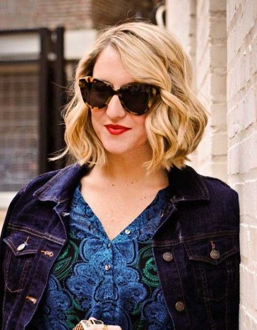 Short Wavy Bob Hairstyles for 2014