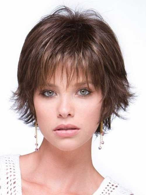Thin Layered Bob Cut Hairstyles