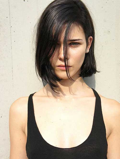 Thin Medium Length Bob Haircuts