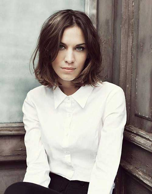 Wavy Bob Haircut Perfect Style