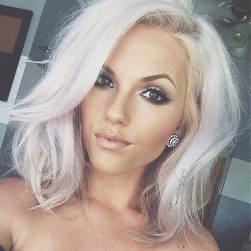 White Blonde Bob Hairstyles Bob Hairstyles 2017 Short