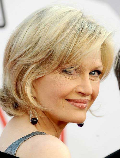 Bob Hairstyles for Older Ladies-6