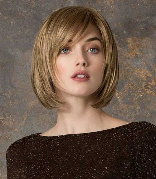 Casual Bob Styles for Round Faces Ideas