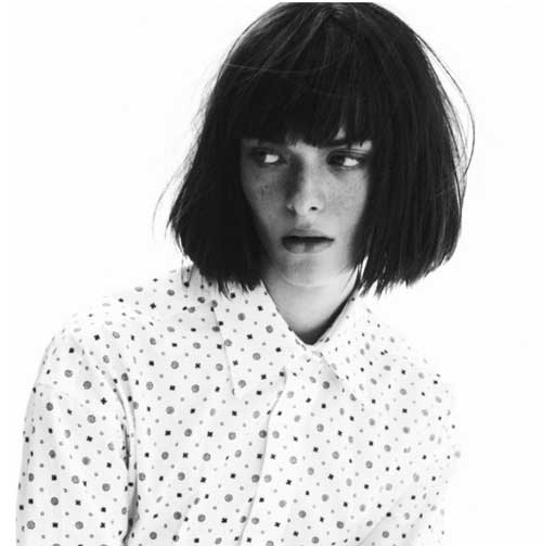 Cool Chopy Blunt Bob Haircuts 2015