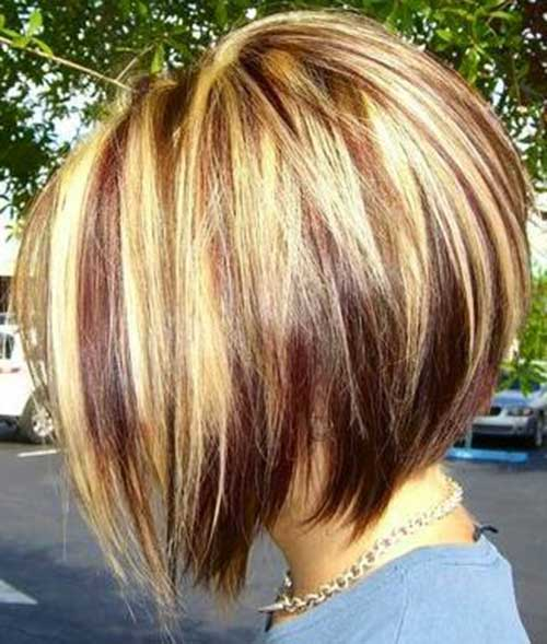 Cool Highlighted Bob Haircut