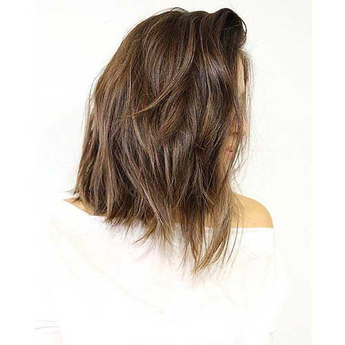 Cool Long Wavy Bob Haircuts 2015