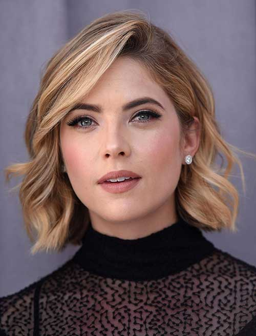 Cool Messy Wavy Bob Haircuts 2015