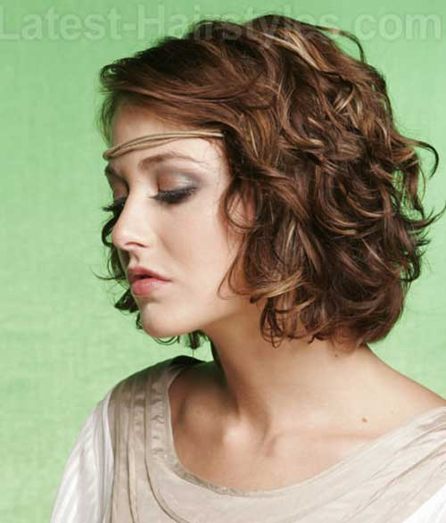 Curled Bob Hairstyles Ideas