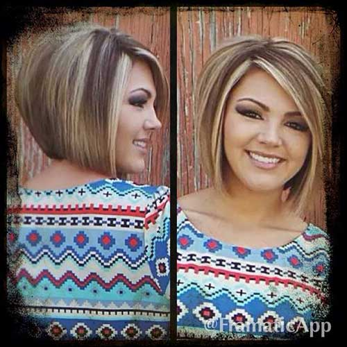 Highlighted Bob Haircuts for Women