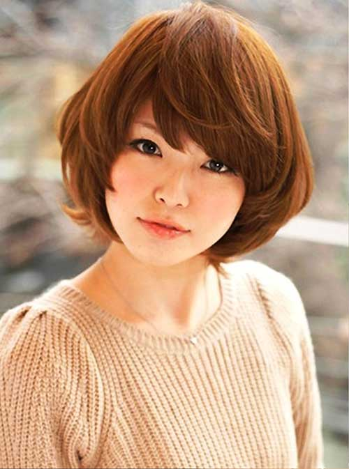 Japanese Bob Side Bangs Ideas