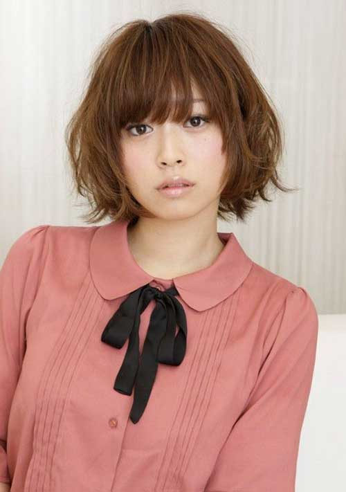 Japanese Messy Bob Hair Cut