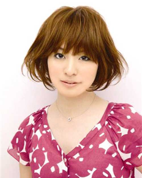 Japanese Thick Bob Hairstyles