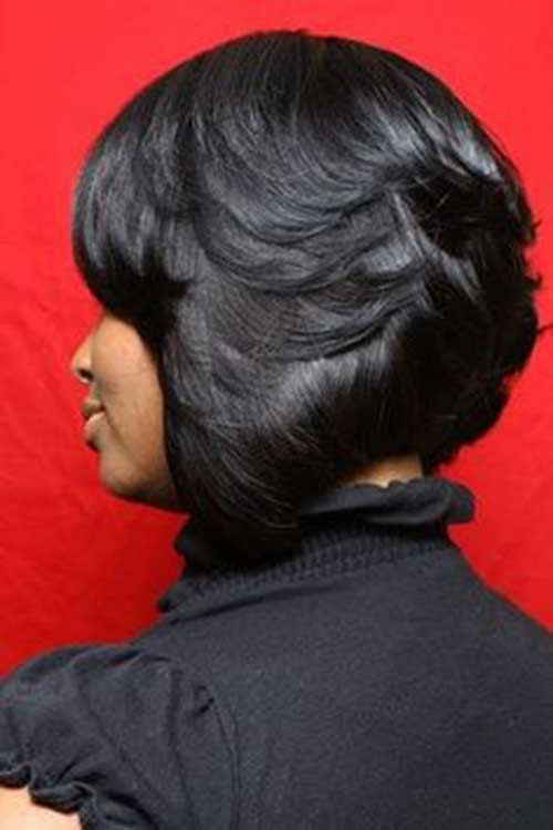 Layered Bobs for Black Women Ideas