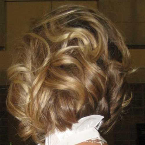 Soft Curled Bob Hairstyles