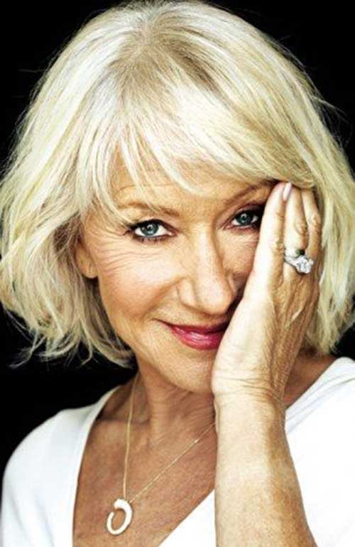 Bob Haircuts for Older Ladies-12
