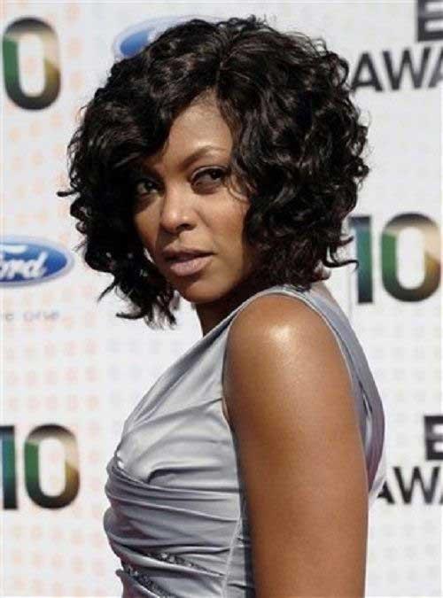 Long Bob Hairstyles for Black Women-16