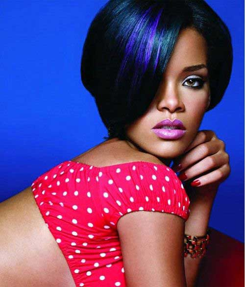 2014 Bob Short Hairstyles for Black Women