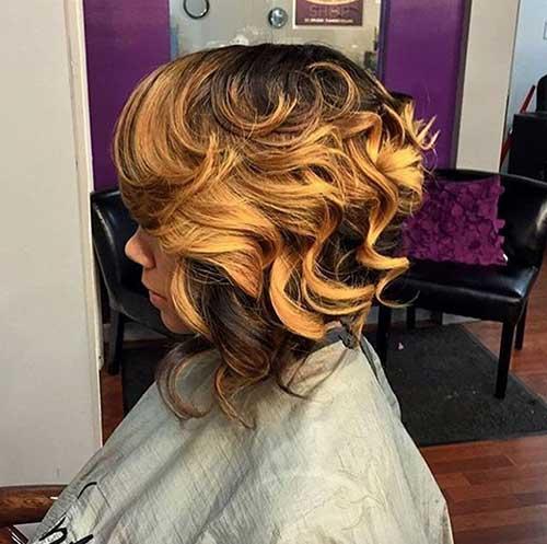 Long Bob Hairstyles for Black Women-9