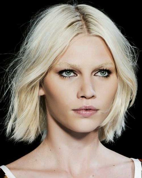Aline Choppy Bob Hairstyle 2015