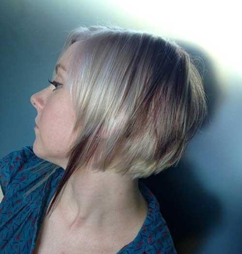 Ash Blonde Hair Bob