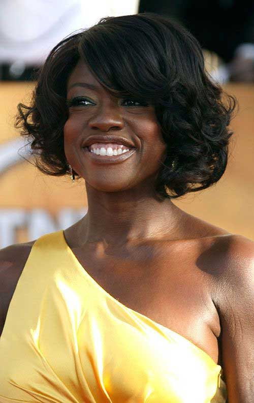 Asymmetrical Layered Bob Hairstyles for Black Women