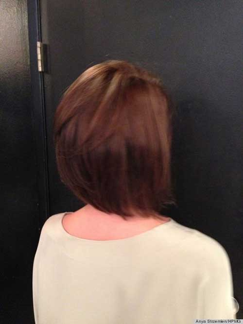 Back View of Bob Haircut