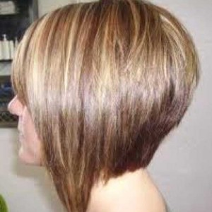 Back of Graduated Bob Haircut