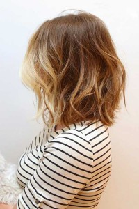 Balyage with Ombre Bob Style