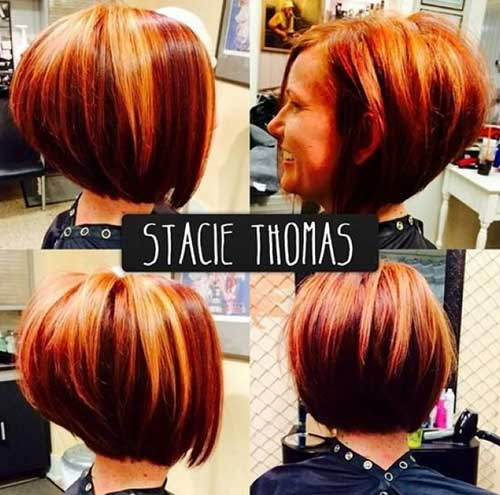 Best Stacked Layered Bob Hair Ideas