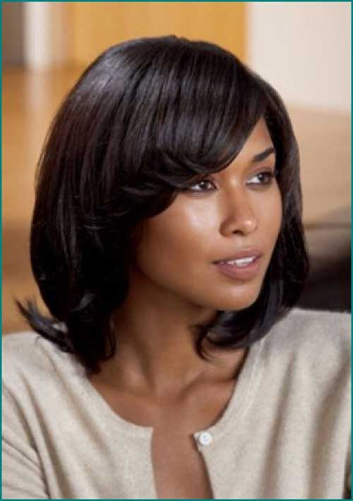 Black Girls Dark Bob Hairstyles 2014