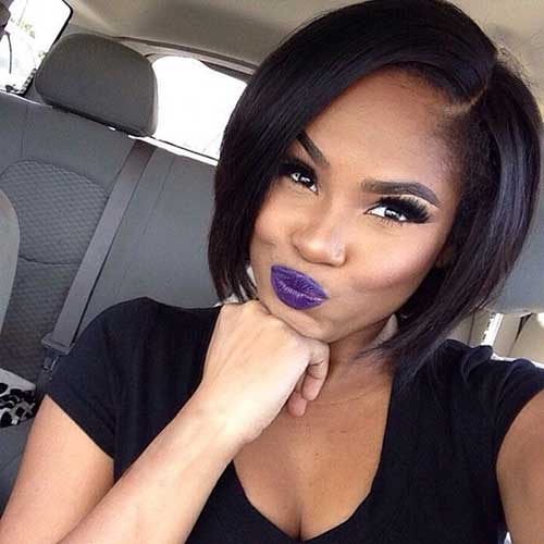 Black Girls Short Bob Hairstyles