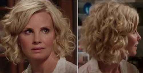 Blonde Curly Bob Haircuts 2015