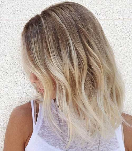 Blonde Ombre Bob Hair Color Ideas