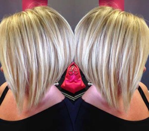 Blonde Straight Bob Haircuts
