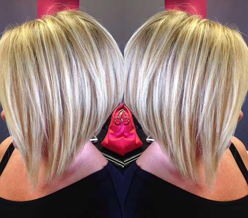 Blonde Straight Bob Haircuts